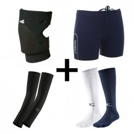Kneepads + Short + Sleeves + Kousen | Top Deal