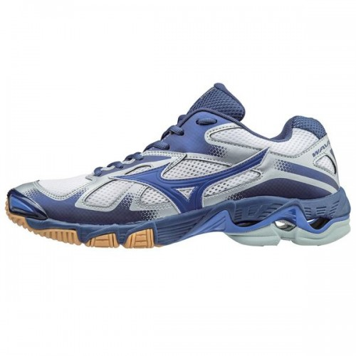 Mizuno Wave Bolt 5 (blauw-wit)