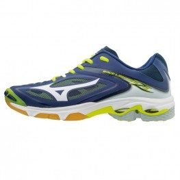Mizuno Wave Lightning Z3 - Super Deal  (marine/geel)