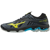 Mizuno Wave Lightning Z4 - Super Deal (donkerblauw/geel)