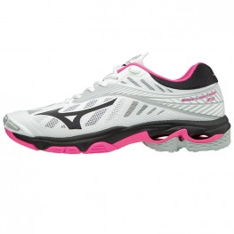 Mizuno Wave Lightning Z4 - Mega Deal (wit/zwart/roze)
