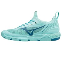 Mizuno Wave Luminous (lichtblauw)