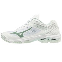 Mizuno Wave Lightning Z5 (wit/zilver/spa blauw)