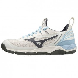 Mizuno Wave Luminous (white/robbia blue)
